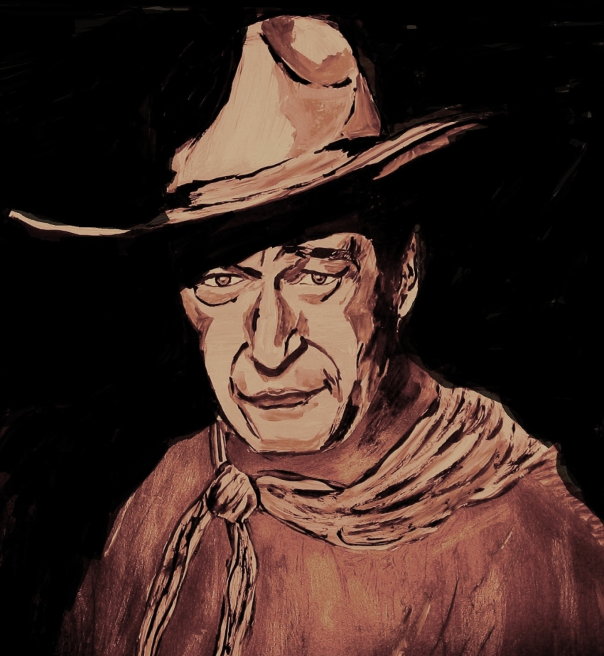 John Wayne by JIM